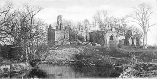 Lincluden Priory, Kirkcudbrightshire